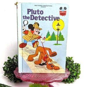 Vintage Disney's Pluto the Detective